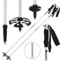 Carbon ski poles in various lengths, incl. racing baskets and deep-snow baskets 001