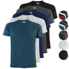 ALPIDEX T-Shirts Herren 5er Set – erhältlich in verschiedenen Größen und Farben