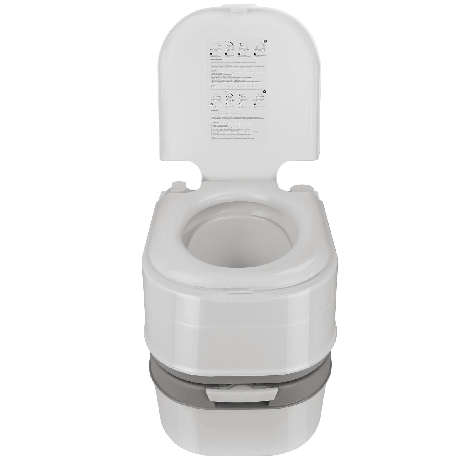 mobile camping toilette mit kolbenpumpe 24 l von bb sport. Black Bedroom Furniture Sets. Home Design Ideas