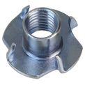ALPIDEX 250 Einschlagmuttern M10 galvanisch verzinkt 13 mm Einschlaggewinde für Klettergriffe 001