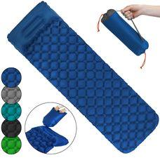 ALPIDEX Isomatte Camping Aufblasbar mit Kissen, Luftsack zum Aufpumpen Ultraleichte Rutschfeste Schlafmatte Luftmatratze