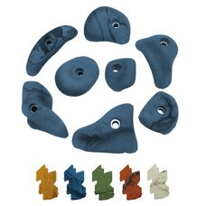 ALPIDEX 8 Climbing Holds