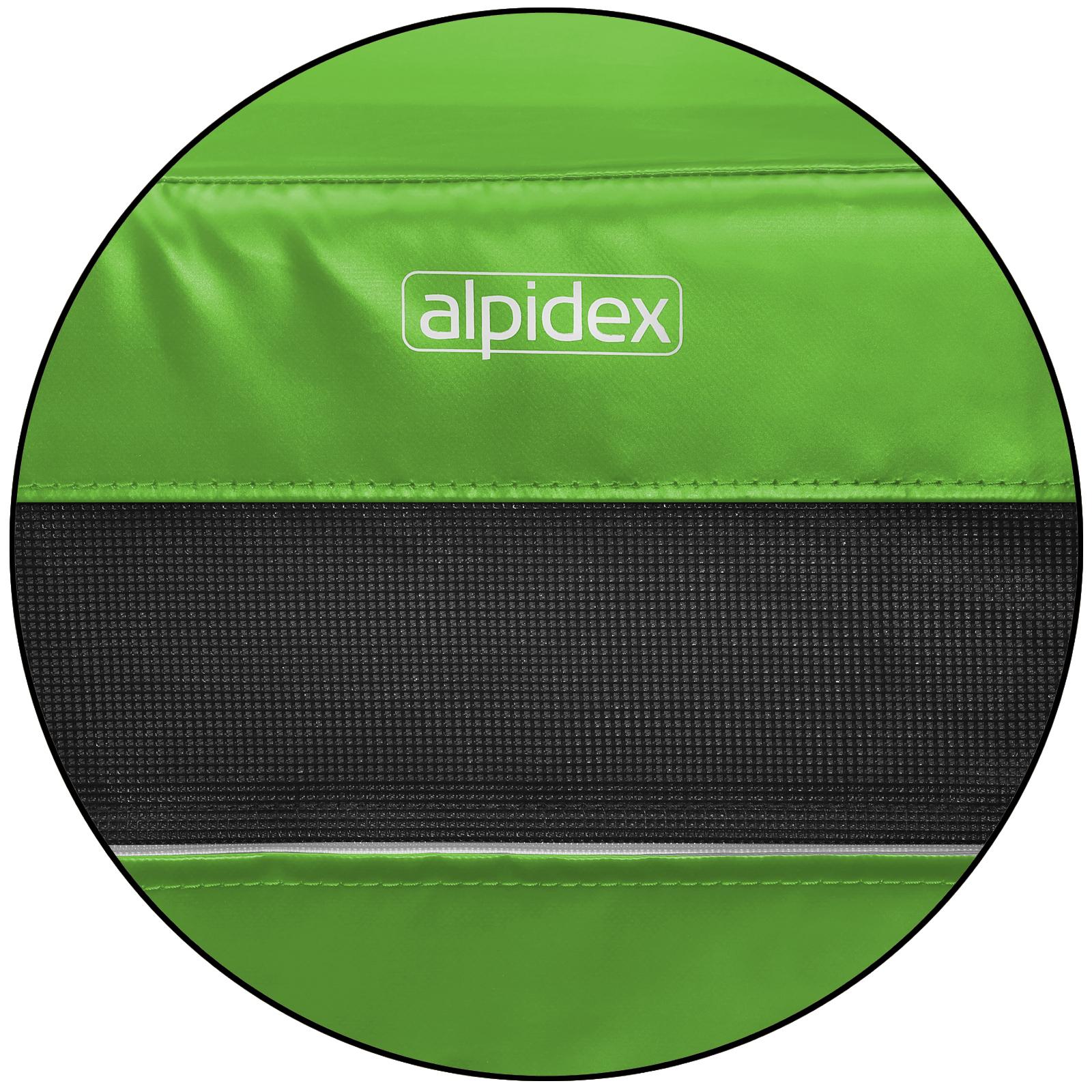 ALPIDEX Weichbodenmatte 200 x 150 x 20 cm mit Tragegriffen und Anti-Rutschboden