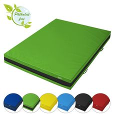 Soft floor mat 200 x 150 x 20 cm incl. hand grips and anti-slip base by ALPIDEX