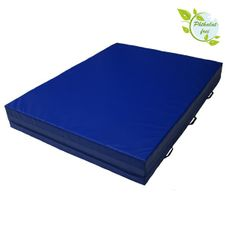 Soft floor mat 300 x 200 x 25 cm incl. hand grips and anti-slip base by ALPIDEX