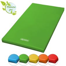 Gym Mat 200 x 100 x 8 cm with Anti-Slip Base RG 20 (very soft) by ALPIDEX