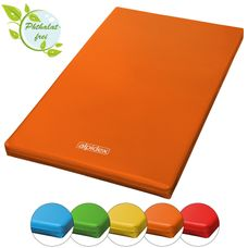Gym Mat 200 x 120 x 8 cm with Anti-Slip Base RG 20 (very soft) by ALPIDEX