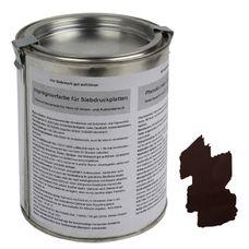 ALPIDEX Imprägnierfarbe Wetterschutzfarbe für Siebdruckplatten 500 ml