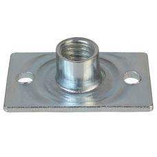 ALPIDEX 500 Spezial Einschlagmuttern M10 Stahl verzinkt PROFESSIONAL Anschraubmuttern