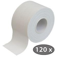 120 x ALPIDEX Sport-Tape 3,8 cm x 10 m Farbe: weiß