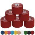 6 Rollen Kinesiologie Tape 5 m x 5,0 cm in vielen Farben 001