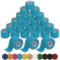 24 Rollen Kinesiologie Tape 5 m x 5,0 cm in 11 Farben 001