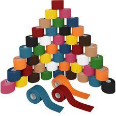 48 Rollen Kinesiologie Tape 5 m x 5,0 cm in 11 Farben