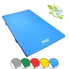 Gymnastic Mat 1000 in 200 x 100 x 6 cm with Anti-Slip Base and Carry Handles RG 120 by ALPIDEX