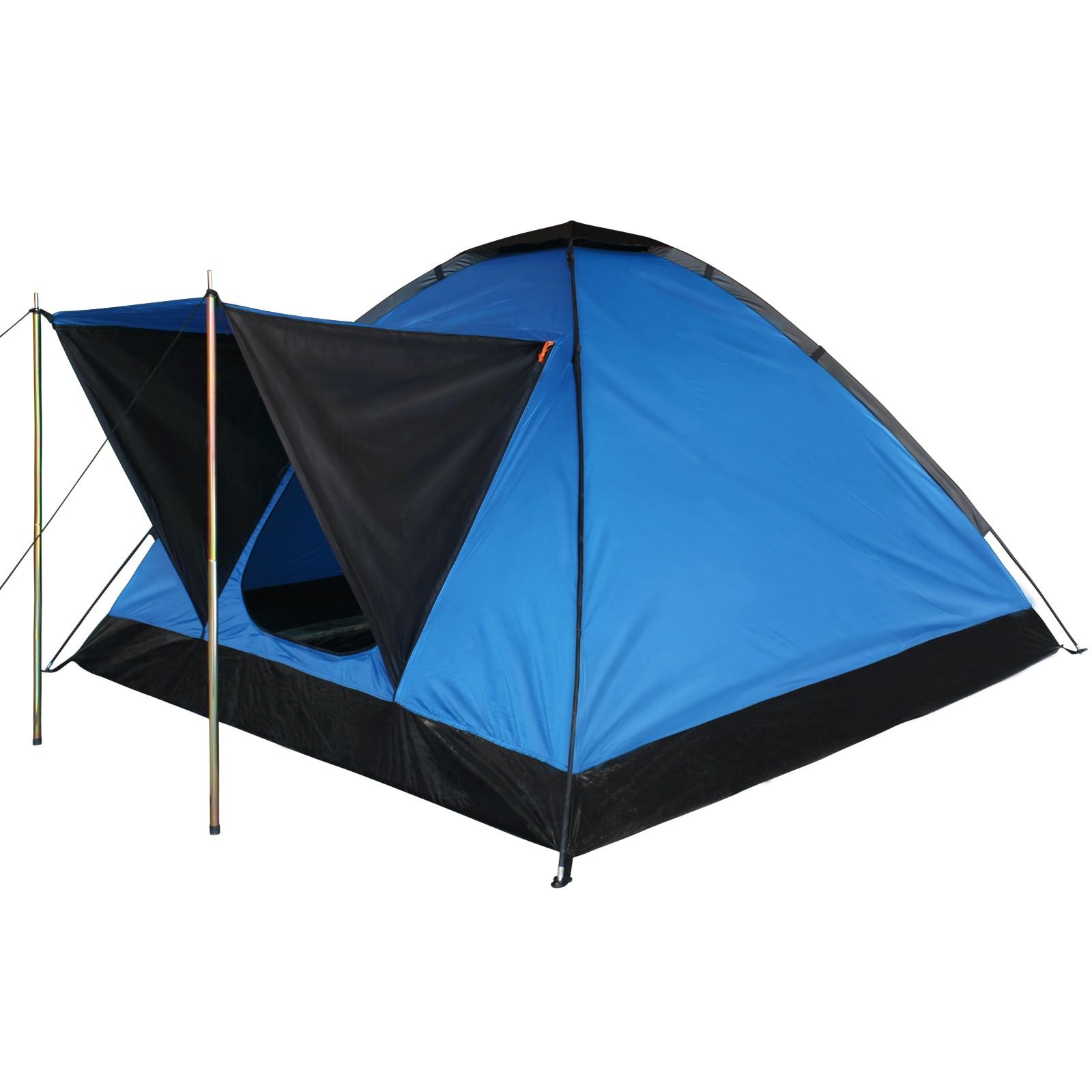zelt kuppelzelt campingzelt festivalzelt ocean f r 2 3. Black Bedroom Furniture Sets. Home Design Ideas