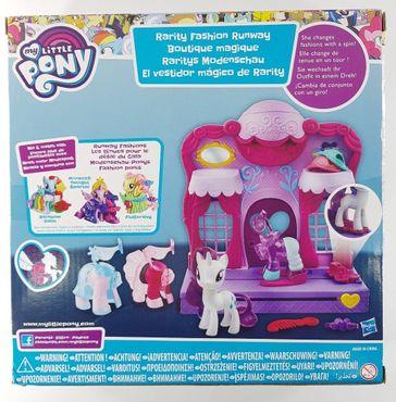 Hasbro B8811EU4 My Little Pony Raritys Modenschau Spielset Modespaß 3 Outfits – Bild 2