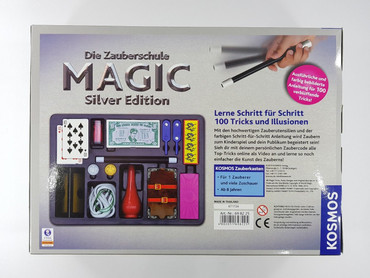 Kosmos 698225 Zauberschule Magic Silver Edition Zauberkasten 100 Tricks NEU – Bild 2