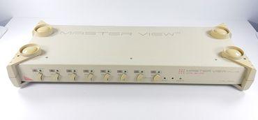 8 Port Master View Plus KVM Switch CS-138 A + Netzteil 4 St. KVM VGA PS/2 Kabel  – Bild 1