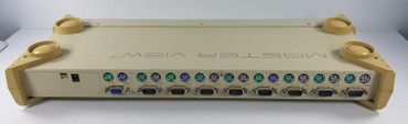 8 Port Master View Plus KVM Switch CS-138 A + Netzteil 4 St. KVM VGA PS/2 Kabel  – Bild 2