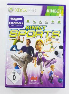 Kinect Sports Microsoft Xbox 360 2010 DVD-Box – Bild 1