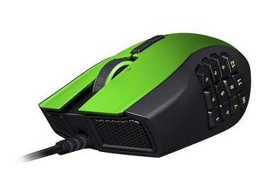 Razer Naga Expert Limited Green Edition Gaming Mouse 8200 Maus dpi RZ01-01040300 – Bild 2