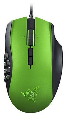 Razer Naga Expert Limited Green Edition Gaming Mouse 8200 Maus dpi RZ01-01040300 – Bild 3