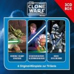 STAR WARS - THE CLONE WARS HÖRSPIELBOX VOL.1 3CD NEU 001
