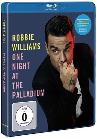ROBBIE WILLIAMS - ONE NIGHT AT THE PALLADIUM BLU-RAY NEU