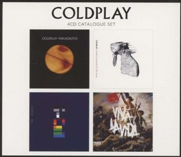 COLDPLAY - 4 CD CATALOGUE SET 4CD NEU BEST OF GREATEST HITS
