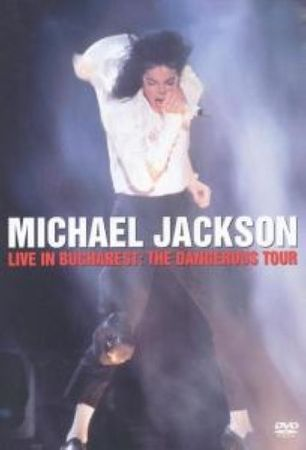 MICHAEL JACKSON - LIVE IN BUCHAREST DVD NEU (KONZERT DANGEROUS TOUR)