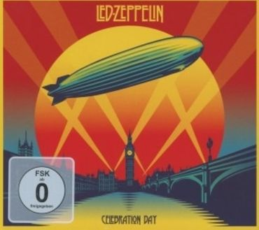 LED ZEPPELIN - CELEBRATION DAY 2CD + DVD BOX NEU