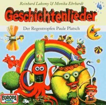 REINHARD LAKOMY - GESCHICHTENLIEDER- DER REGENTROPFEN PAULE PLATSCH CD NEU