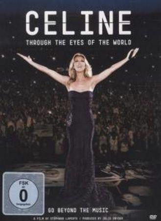 CELINE DION - THROUGH THE EYES OF THE WORLD DVD NEU