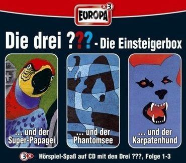 DIE DREI ??? DIE EINSTEIGERBOX FOLGE 1-3 3CD NEU