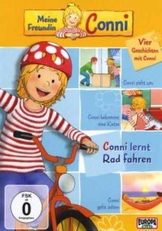 MEINE FREUNDIN CONNI - 01 CONNI LERNT RAD FAHREN DVD NEU