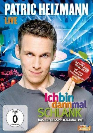 PATRIC HEIZMANN - ICH BIN DANN MAL SCHLANK LIVE DVD NEU