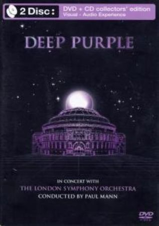 DEEP PURPLE - IN CONCERT WITH THE LONDON SYMPHONY ORCHESTRA CD+DVD NEU