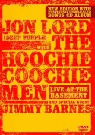 JON LORD & HOOCHIE COOCHIE MEN - LIVE AT THE BASEMENT DVD + CD NEU