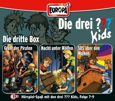 DIE DREI ??? KIDS BOX 03 FOLGE 7 - 9 3CD NEU