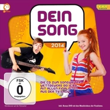 DEIN SONG 2014 CD + DVD NEU (KIKA)