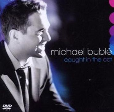 MICHAEL BUBLE - CAUGHT IN THE ACT CD + DVD NEU