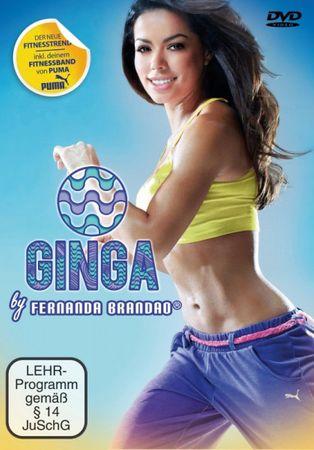 GINGA BY FERNANDA BRANDAO DVD NEU INKL. FITNESSBAND