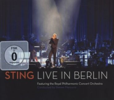 STING - LIVE IN BERLIN CD + DVD NEU