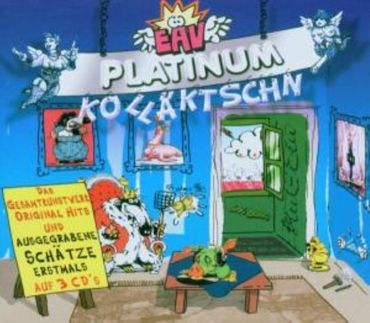 EAV - PLATINUM COLLECTION / KOLLÄKTSCHN 3CD NEU