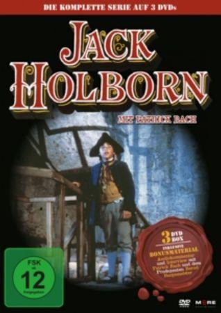 JACK HOLBORN - DIE KOMPLETTE SERIE 3DVD NEU