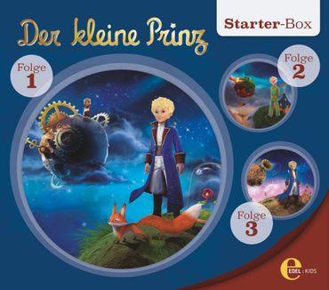 DER KLEINE PRINZ - STARTER BOX FOLGE 1-3 3CD NEU