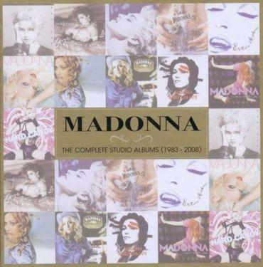 MADONNA - THE COMPLETE STUDIO ALBUM 1983 - 2008 LIMITED EDITION 11CD NEU