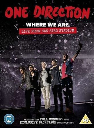 ONE DIRECTION - WHERE WE ARE LIVE FROM SAN SIRO STADIUM DVD NEU