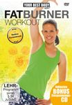 NADINE KORTENBRUCK - YOUR BEST BODY FATBURNER WORKOUT DVD+CD NEU