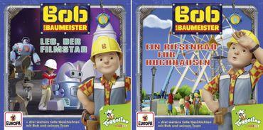 BOB DER BAUMEISTER - FOLGE 3 + 4 FILMSTAR / RIESENRAD 2CD NEU